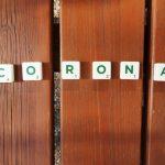 Buchstaben corona